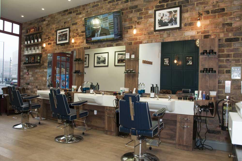barber shop features
