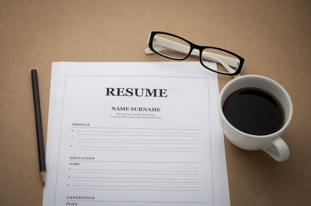 types of resume writing services